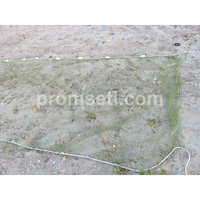 Бредень (волок) для ловли раков 5 м х 1.8 м