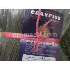 Сетеполотно CrayFish (сдвоенная леска) 45 х 0.45T х 6 х 100