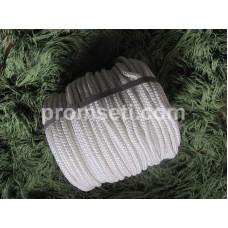 Фал плетеный капроновый (полиамидный), диаметр 14 мм