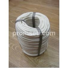 Фал плетеный капроновый (полиамидный), диаметр 6 мм