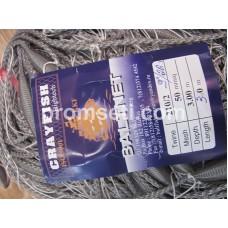 Одностенная сеть-финка 50 мм х 210den2 мм х 3.0 м х 30 м нейлон (пат)