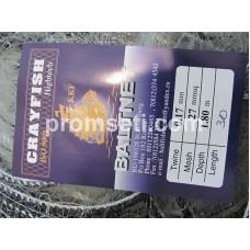 Одностенная сеть-финка 27 мм х 0.17 мм х 1.8 м х 30 м