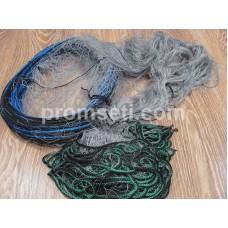 """Рыболовная сеть одностенная """"Хамелеон"""" 20 мм х 110den2 х 1,8 м х 30 м (капроновая)"""