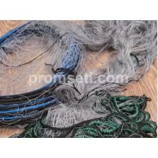 """Рыболовная сеть одностенная """"Хамелеон"""" 27 мм х 110den2 х 1,8 м х 30 м (капроновая)"""