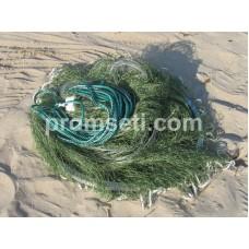 Кастинговая сеть с двойным кольцом 4 м (капроновая) яч.20мм