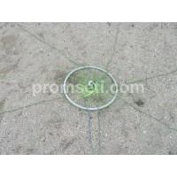 Кастинговая сеть с кольцом 4 м (капрон) яч.20мм