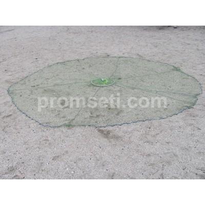 Кастинговая сеть с кольцом 5 м (капрон) яч.20мм