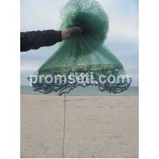 Кастинговая сеть с кольцом 3.5 м (леска) яч.20мм