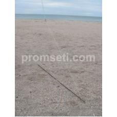 Косынка оснащенная рыболовная 1.2 м х 0.9 м, ячея 25 мм