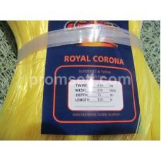 Ряж лесковая Royal Corona яч.250 мм, высота 75 ячей