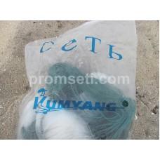 Сеть трехстенка Kumyang 30 мм х 1.5 м х 50 м (груз вшитый)