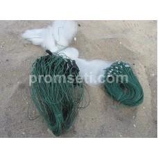 Сеть трехстенка Kumyang 30 мм х 1.5 м х 50 м (груз дробинки)