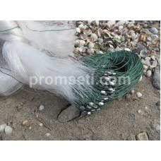 Сеть трехстенка Kumyang 55 мм х 1.5 м х 50 м (груз дробинки)