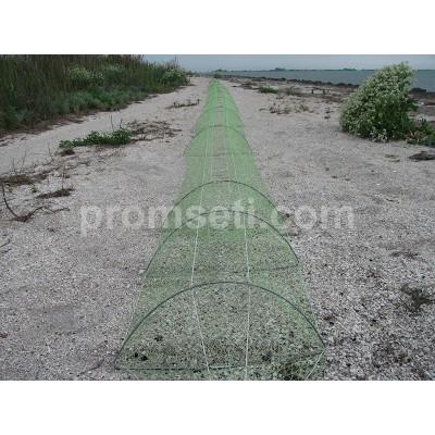 Раколовка промысловая «Ручей» (модель АРКА) 25 м х 20 см х 47 см