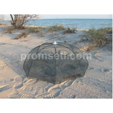 "Раколовка ""Зонт"" 8 входов, диаметр 90 см (от 5-ти шт)"