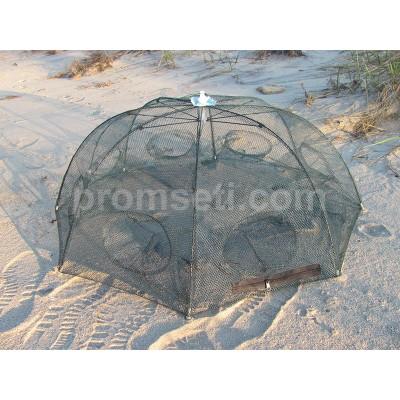 "Раколовка ""Зонт"" 8 входов, диаметр 90 см (от 2-х шт)"