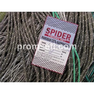 Рамовая сеть Spider 115мм х 23.3tex4 (0.5мм) х 1.9м х 50м (капроновая на шнурах)