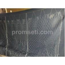 Рамовая сеть 50 х 1.3 ячея 35 мм, леска 0.18 мм