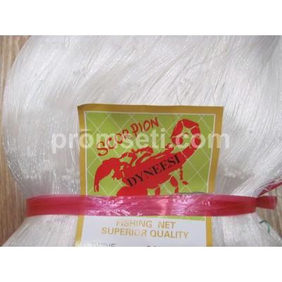 Сетеполотно Scorpion (скрученная леска) 110 х 0.20*4 х 75 х 110