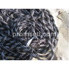 Трехстенная сеть на сплошных шнурах 100 мм х 0.20*3 х 3 м х 50 м
