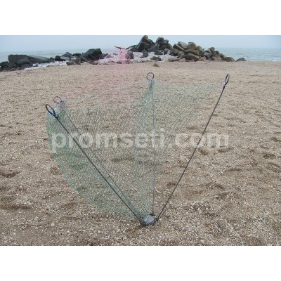 Зонт-хапуга на пружинах 1.2 м х 1.2 м (купол 16 мм, без косынок)