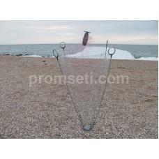 Зонт-хапуга на пружинах 1.2 м х 1.2 м (леска 16 мм, косынки 35 мм)
