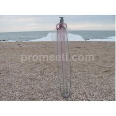 Зонт-хапуга на пружинах 1.2 м х 1.2 м (леска 20 мм, косынки 35 мм)