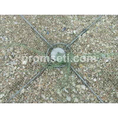 Зонт-малявочник на пружинах 1.2 м х 1.2 м (купол 6.5 мм, без косынок)