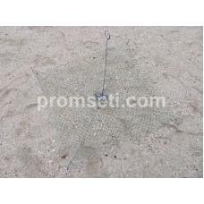 Зонт-хапуга на пружинах 0.8 м х 0.8 м (капрон, ячея 20 мм)