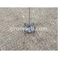 Зонт-хапуга на пружинах 0.8 м х 0.8 м (капрон, ячея 14 мм)