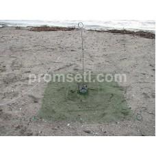 Зонт-малявочник на пружинах 0.8 м х 0.8 м (капрон, ячея 10.0 мм)