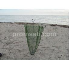 Зонт-малявочник на пружинах 0.8 м х 0.8 м (ячея 6.5 мм, без косынок)