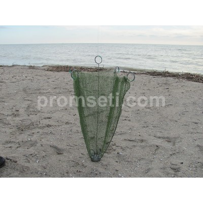 Зонт-малявочник на пружинах 0.8 м х 0.8 м (капрон, ячея 6.5 мм)